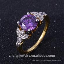 Las mujeres de la joyería del ópalo de China fabrican los anillos de lujo el mejor precio de alta calidad