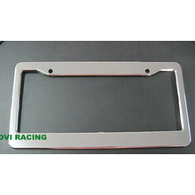 Chromed Car License Plate Frame with ABS Personalized License Palte Holder