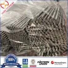 ASTM B348 Gr2 Dia6 × 80 मिमी टाइटेनियम पट्टी