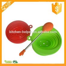 Non-stick no tóxicos cocina de silicona Mezclando Servir cuchara