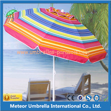 Middle Column Round Outdoor Beach Umbrella