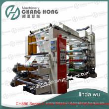 Máquina de impressão não tecida da melhor venda de quatro cores