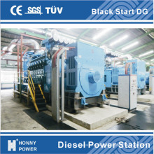 Honny Black Start Generator Kraftwerk 1000rpm