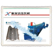 highway guard bar plate roll forming machine