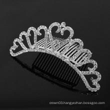 Rhinestone Wedding Tiara Comb Crystal Combs