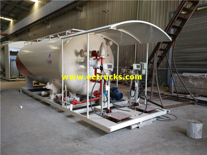 25m3 Propane Skid-mounted Stations