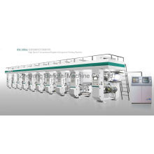 High-Speed Computer Color Register Gravure Printing Machine (200m/min speed)