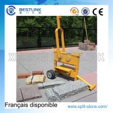 Manual concreto portátil pavimentación de bloque y ladrillo Splitter