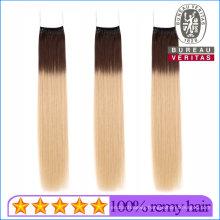 Top Quality 100% Hair Extension Brazilian Virgin Human Hair Knot Thread Hair Extension Remy Hair
