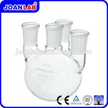 JOAN Labor-Glaswaren 4- Hals Runde Bottom Flaschen mit Standard-Gelenke
