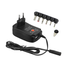 Multi 6 dc pin Power Charger EU Plug 30W 3V/4.5V/5V/6V/7.5V/9V/12V