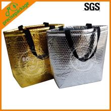 Novo design de moda barato reciclado saco plástico de bolhas de alumínio