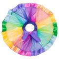 Grace Karin Girls Layered Tiered Rainbow Ribbon Tutu Dance Ballet Skirt 1~9Years CL010494-1
