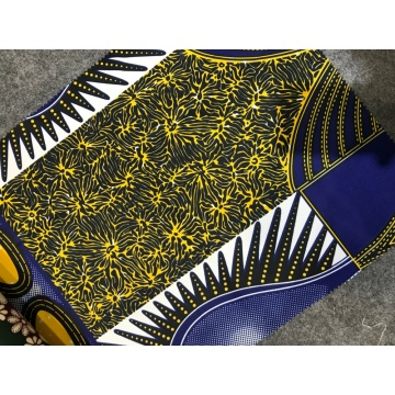 Африканская ткань с восковым принтом