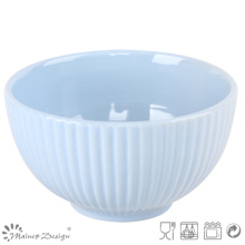 "13.5"" Embossed Rice Bowl for Restaurant"