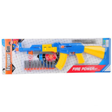 Hot Sale Boy Favor Toy Plastic Soft Bullet Gun Toy