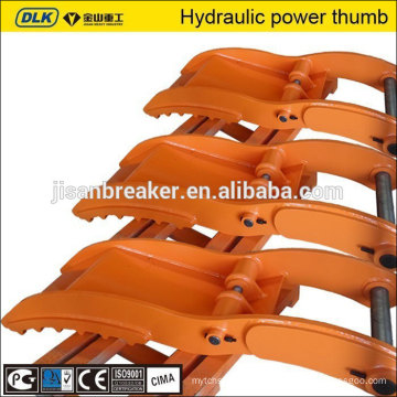 High strength Hydraulic Thumb fit for 20ton excavator