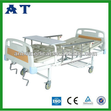 medical ABS triple-folding bed CE
