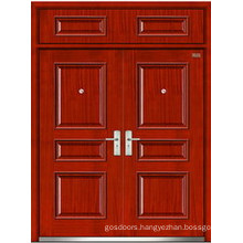 Steel Wooden Double Door (LT-203)