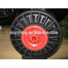 10,13,14,16 дюймов твердые резиновые колеса для тяжелых работ тачке сделано в Китае