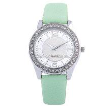 Luxury stone lady watch in popular shape and custom design
