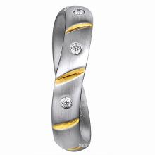 Value Diamond 925 Silver Men′s Ring 925 for Men Silver