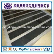 China fabricante suministro aleación Tzm alta temperatura molibdeno placas/hojas en zafiro crecimiento horno