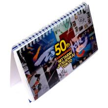 2016 Custom Design 3D Lenticular Table Calendar Printing