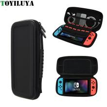 PU Leder harte wasserdichte Schutztasche Tasche für Nintendo Switch Gamepad Aufbewahrungskoffer für Nintendo Switch NS Konsole