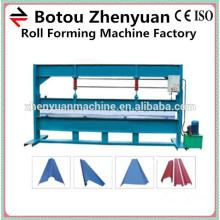 Chapa de aço hidráulica dobradora, máquina de dobra hidráulica, dobradora de folhas