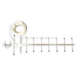 9 unit antenna with 15m wire, yagi antenna