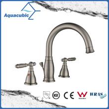 Popular Nickel Brush Bathroom Wash Basin Faucet (AF4710-6BN)