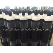 ISO9809-3 Seamless Steel Oxygen Tanks 47L