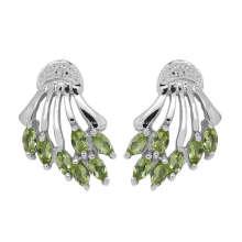 Peridot Earring Fashion Jewelry (GE02197)