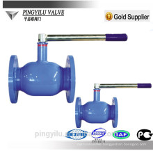 dn200 cast iron full port ball valve with best price
