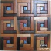 Azulejo de la pared piso mosaico de madera por mayor