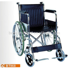 Standard chrome steel frame wheelchair size