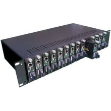 Media Converter Chassis Dual Power Supply