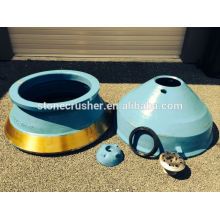 Sand vik ,metseo crusher spare parts HP 300 bowl liner,mantle,locking bolt,feed plate,torch ring.