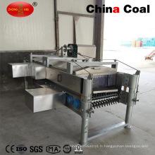 Machine commerciale de plucker de poulet de canard de type horizontal