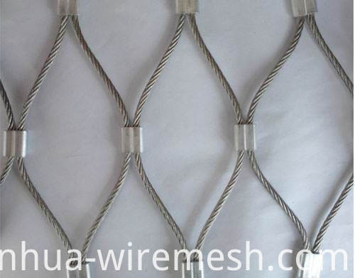 Decorative stainless steel wire rope mesh (1)