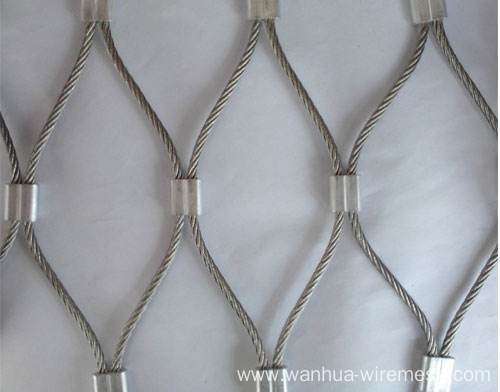 Decorative stainless steel wire rope mesh