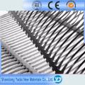 120 Kn/M Fiberglass Plastic Uniaxial Geogrid