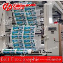 Máquina de impresión HDPE / LDPE / LLDPE / Máquina de impresión Flexo / Máquina de impresión