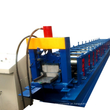 Painel do andaime que faz a máquina que galvaniza o perfil do painel que rola a máquina da formação