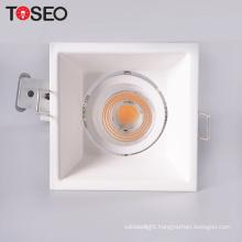 CE ROHS indoor GU10 GU5.3 ceilling anti-glare deep cup recessed downlight fixture