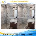 Stainless steel shower glass door hardware / shower clamp