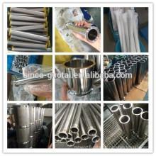 304 316 bobina de tubo higiénico tri abrazadera