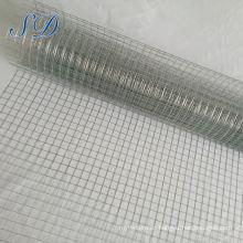 Malla de alambre soldada con autógena galvanizada precio bajo