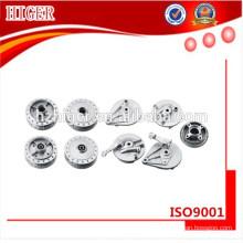 piezas de aluminio del toldo